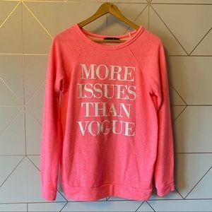 Dirty Ballerina More Issues Than Vogue Sweatshirt